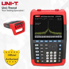 <b>UNI</b>-<b>T</b> UTS1010 Handheld Spectrum Analyzer; 9kHz to 2GHz ...