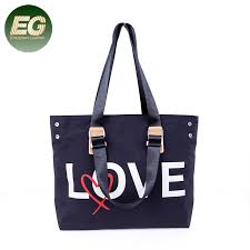 China <b>New Large-Capacity Nylon</b> Bag Letter Decoration Fashion ...