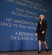 Theresa May echoes Margaret Thatcher in vow to 'face down' and ... via Relatably.com