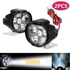 2pcs 9-85V Motorcycle Scooter LED Headlight Waterproof ... - Vova