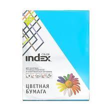 """""""<b>Index</b>"""" <b>Бумага цветная Index Color</b> 80 г/м2 А4 100 л. купить за ..."""