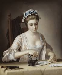 the servant hierarchy countryhousereader a laundry maid ironing c 1762 85 by henry robert morland