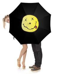 """Зонты c популярными принтами """"<b>nirvana</b>"""" - купить в интернет ..."""