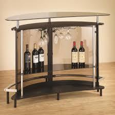 modern cappuccino bar unit back view bar corner furniture