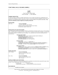resume examples qualification in resume sample examples of resume examples qualification resume sample career objective statement and education in degree of university