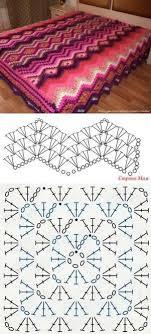 All crochet:<b>Blanket</b> pattern...   Deniz : | Вязаное покрывало ...