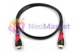 <b>Аксессуар Greenconnect HDMI 19M</b> v2.0 0.3m Red GCR-HM3012 ...