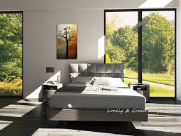 Wall Art Sets For Living Room Pure Hand Painted Abstract Money Tree Oil Painting On Canvas Wall