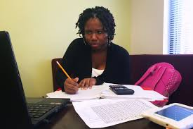 who needs algebra new approach to college math helps more pass ashjame pendarvis a first year community college student works on her math homework at the university of district of columbia