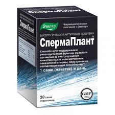 Аптеки «Апрель»   <b>Спермаплант порошок 3</b>,<b>5г</b> саше №20
