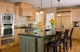 craftsman kitchen cabinets traditional light