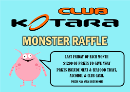 club kotara monster raffle