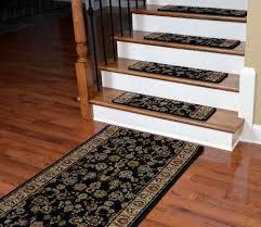 ''Dean Premium <b>Carpet Stair Treads</b> - Elegant Keshan Ebony 31 x 9 ...