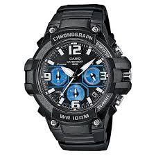 Купить <b>часы Casio</b> Collection <b>Mcw</b>-<b>100h</b>-<b>1a2</b> Black/Blue в ...
