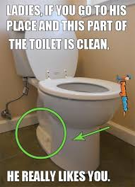 Funny memes – If this part of the toilet is clean | FunnyMeme.com via Relatably.com