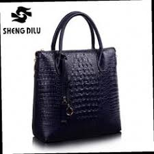 Heshe Women <b>New Fashion Genuine Leather</b> Charm Grid Purse ...