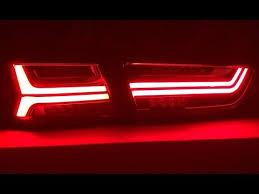 <b>Задние LED фонари</b> в стиле AUDI на LANCER X - YouTube
