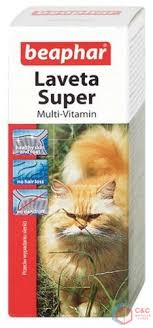 Beaphar Laveta Super Cat - preparat na sierść ... - Best C&C CAGES
