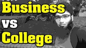 question is start an online business better than going to college question is start an online business better than going to college