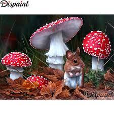 "<b>Dispaint Full Square/Round Drill</b> 5D DIY Diamond Painting ""Mouse ..."