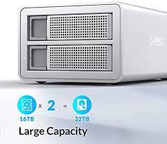 <b>ORICO Industrial</b> 2 Bay <b>USB 3 to</b> SATA External Hard Drive ...