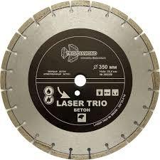 <b>Диск</b> алмазный отрезной 350*25,4*12 <b>Trio Diamond</b> Лазер бетон ...