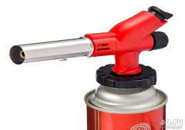 <b>Горелка газовая</b> с пьезоэлектрическим розжигом арт <b>4-044</b> цанг ...