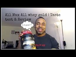 All Max <b>All whey gold</b> | Taste test & Review | Chocolate peanut butter