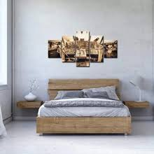 Buy <b>5 piece canvas</b> wall art airplane and get free shipping on ...