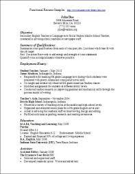 resume template  hybrid resume template free resume builder    functional resume template sample   student teacher employment history