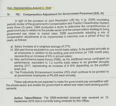 update on salary increase 2016 from act deped tambayan ph sweldo kaya di kasama sa pagbilang sa retirement o separation pay etc isa pa ang pei at pbb ay binabatay sa performance at iba ibang requirements