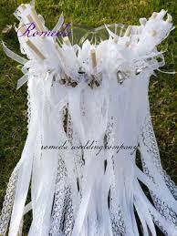 <b>Free shipping 50pcs/lot</b> New Arrival white Wedding Wands Lace ...