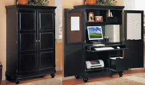 hidden home office armoire office