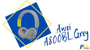 Беспроводные <b>Наушники</b> #<b>Awei A800BL</b> Grey - YouTube