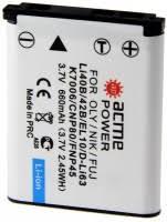 <b>AcmePower LI</b>-40B – купить <b>аккумулятор</b> для камеры, сравнение ...