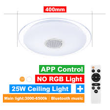 <b>Modern LED ceiling Lights</b> RGB Dimmable 25W 36W 52W APP ...