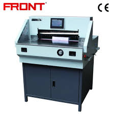 Electric Programmed Paper Cutting Machine A3/A4 Paper 520mm ...