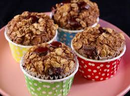 Dark Chocolate, Walnut, and Banana Oatmeal Muffins (21-Day Fix ...