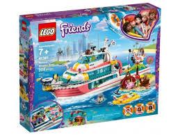 Купить конструктор <b>LEGO FRIENDS Катер для</b> спасательных ...