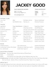 acting resume info acting resumes resume sample acting resume 1 how to make an