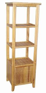 bamboo storage shelf unit bamboo furniture
