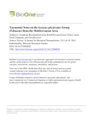 (PDF) Taxonomic Notes on the Genista ephedroides Group ...