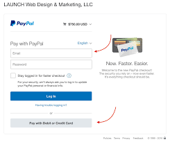 pay invoice website design and online marketing and checkout as a guest paypal account not needed follow the remaining prompts once invoice paid you will receive an automatic receipt from paypal