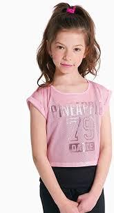 <b>PINEAPPLE</b> DANCEWEAR GIRLS Mesh <b>Double</b> Layer Dance Top ...