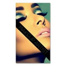 makeup artist cosmetologist beauty salon business card templates