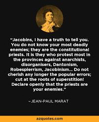 Jean-Paul Marat Quotes. QuotesGram via Relatably.com