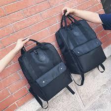 Leaftour Fashion <b>Women Black Backpack Oxford</b> Feminina School ...
