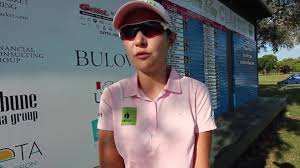 becca huffers second round interview at the prairie band casino paola moreno comfortable in sarasota and shares lead at 2017 sara bay classic