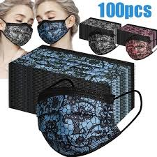 20/50/<b>100PCS Fashion</b> Women <b>Lace Reusable</b> Breathable ...