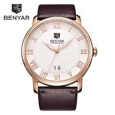 Hot <b>Sale Mens Watches Top</b> Brand Luxury <b>Watch BENYAR</b> Big Dial ...